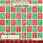Frosty Village Digital Alphabet