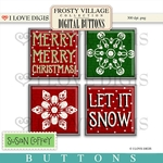 Frosty Village Digital Buttons #2